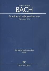 Domine ad adjuvandum me- Johann Christian Bach