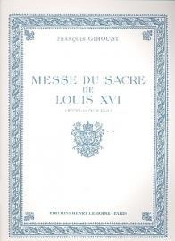Messe du sacre de Louis XVI  - Francois Giroust
