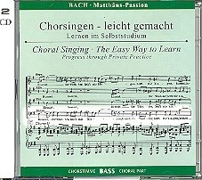Bach -Matthäus-Passion BWV244 | BAS | Oefen CD