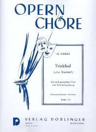 Trinklied aus La Traviata - Verdi | Doblinger