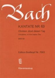Christen ätzet diesen Tag /Kantate Nr.63 BWV63 - Bach | Breitkopf