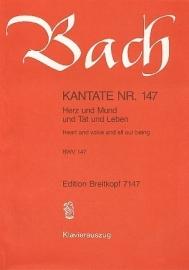 Herz und Mund und Tat und Leben : Kantate  BWV147- Bach | Breitkopf