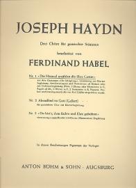 Die Himmel erzählen die Ehre- Haydn