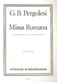 Missa Romana- Pergolesi | Kunzelmann