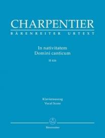 In nativitatem Domini canticum H416 - Charpentier | Barenreiter