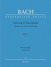 Christ lag in Todesbanden, Kantate 4 BWV4 - Bach | Barenreiter