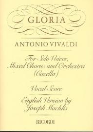 Gloria RV589 - Vivaldi | Ricordi