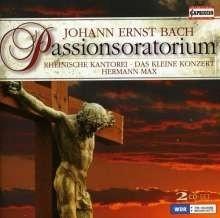 Passionsoratorium - J.E.Bach | CD