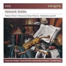 Geistliche Werke - Heinrich Schütz  | 5 CD