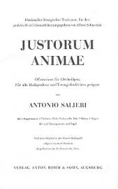 Justorum animae - Salieri | Bohm