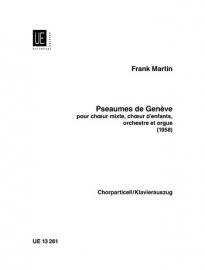 PSEAUMES DE GENEVE - Frank Martin