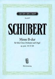 Messe B-Dur D324 op.post.141 -Schubert | Breitkopf