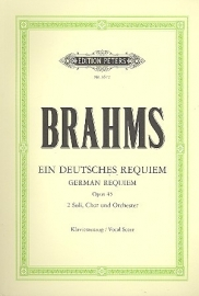 Ein Deutsches Requiem - Brahms | Peters