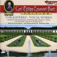 Carl Philipp Emanuel Bach Edition - Vokalwerke - CD