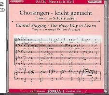 Bach - Messe h-Moll BWV232 | SOPRAAN- 1 | Oefen CD