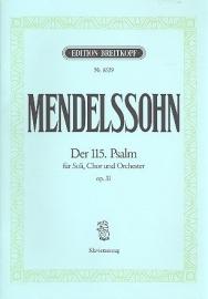 Der 115. Psalm op.31- Mendelssohn | Breitkopf
