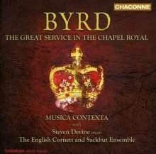 The Great Service In The Chapel Royal - Byrd | CD