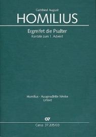 Ergreifet die Psalter HoWV2,1 - Homilius