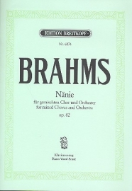 Nänie op.82 - Brahms | Breitkopf