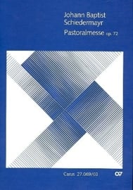 Pastoralmesse op.72 - Schiedermayr