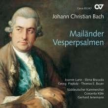 Mailänder Vesperpsalmen - Johann Christian Bach- CD