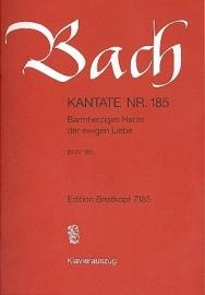Barmherziges Herze der ewigen Liebe / Kantate 185 BWV185| Breitkopf