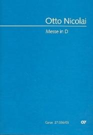 Messe in D- Nicolai | Carus