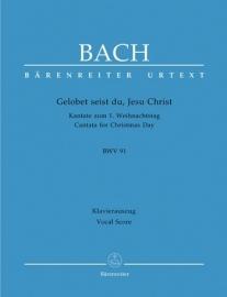 Gelobet seist du Jesu Christ , Kantate 91 BWV91 - Bach | Barenreiter