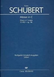 Messe C-Dur D452 op.48 - Schubert | Carus