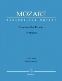 Misericordias Domini KV222 (KV205a) - Mozart | Barenreiter