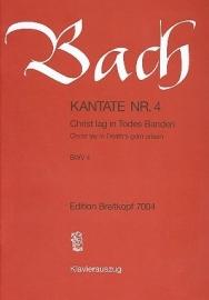 Christ lag in Todesbanden/ Kantate Nr.4 BWV4 - Bach | Breitkopf