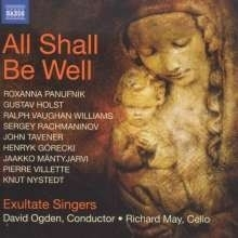 Exultate Singers - All Shall Be Well | CD