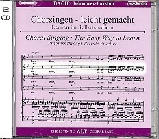 Bach -Johannespassion BWV245 | ALT | Oefen CD