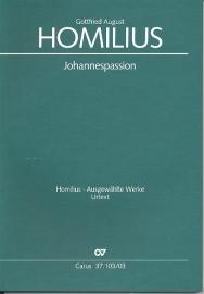 Johannespassion HoWV I.4- Homilius