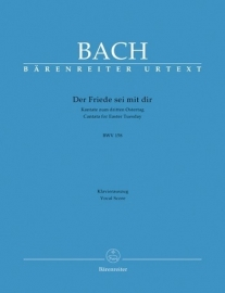 Der Friede sei mit dir , Kantate 158 BWV158 - Bach | Barenreiter