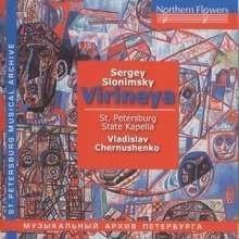 Virineya (Oratorium-Suite) - Slonimsky | CD
