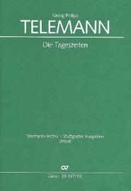 Die Tageszeiten TWV20:39 - Telemann | Carus