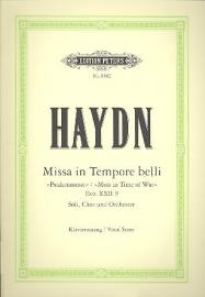 Missa in tempore belli Hob.XXII:9-Haydn   Peters