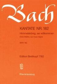 Himmelskönig sei willkommen / Kantate Nr.182 BWV182 - Bach | Breitkopf
