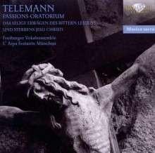 Passions-Oratorium TWV 5:2 - Telemann | CD