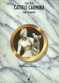 Catulli Carmina : ludi scaenici-Orff