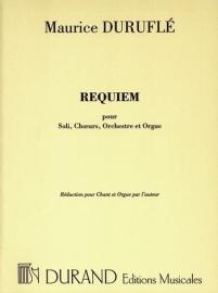 Requiem, Opus 9, incl Orkest| Maurice Duruflé