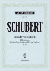 Intende voci orationis D963 - Schubert | Breitkopf