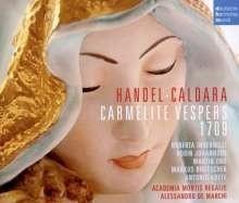 Carmalite Vesper/ Karmeliter Vesper ( 1709)-Händel | CD