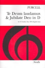 Te deum laudamus and jubilate deo- Purcell | Novello