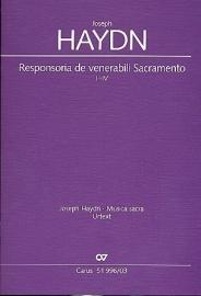 Responsoria de venerabili Sacramento I-IV Hob.XXIIIc:4-Haydn