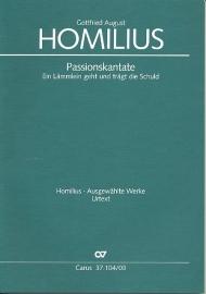 Ein Lämmlein geht und trägt die Schuld HoWV I.2- Homilius