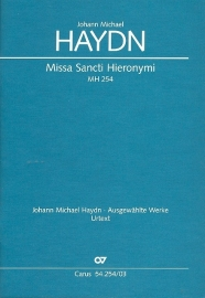 Missa Sancti Hieronymi MH254-Haydn   Carus
