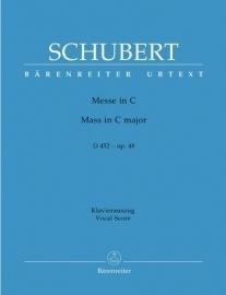 Messe C-Dur D452 op.48 - Schubert | Barenreiter