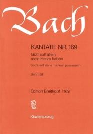 Gott soll allein mein Herze / Kantate Nr.169 BWV169 - bach - breitkopf
